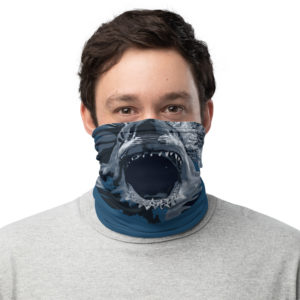 Neck Gaiter – Shark Face