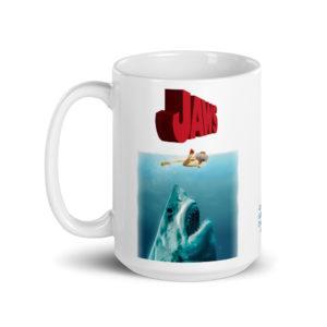 Large 15 oz Coffee Mug – Jaws Rotated
