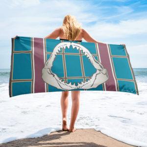 Beach Towel – New England Jaws