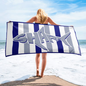 Beach Towel – Cabana Shark