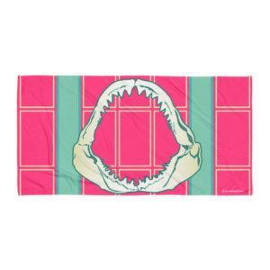 Beach Towel – New Pinkland Jaws