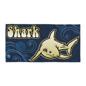 Beach Towel – Paisley Shark
