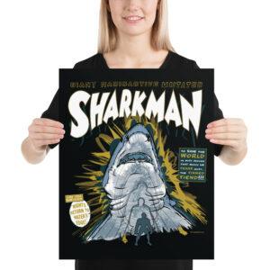 Matte Poster – Sharkman