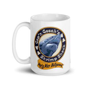 Large 15 oz Coffee Mug – Cap'n Geech's