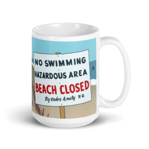 Large 15 oz Coffee Mug – Jaws No Swimming