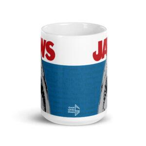 Large 15 oz Coffee Mug – Jaws Script