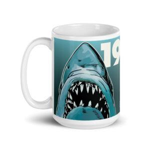 Large 15 oz Coffee Mug – 1975 Toothy Bruce