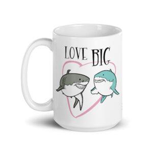Large 15 oz Coffee Mug – Love Big