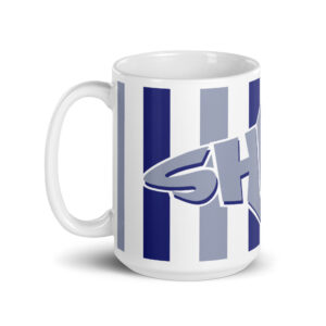 Large 15 oz Coffee Mug – Cabana Shark