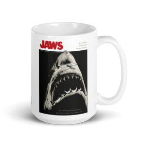 Large 15 oz Coffee Mug – Jaws Terrifying