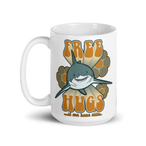 Large 15 oz Coffee Mug – Free Hugs