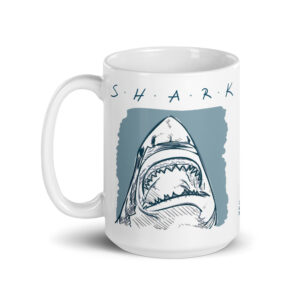 Large 15 oz Coffee Mug – S•H•A•R•K