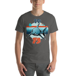 Colored T-Shirt – Jaws 1975