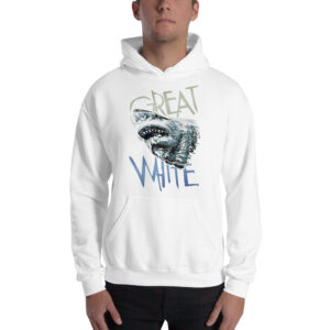 Hoodie – Abstract Great White