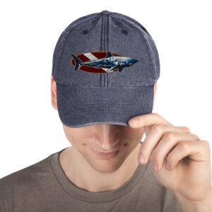 Vintage Hat – Dive Flag Shark