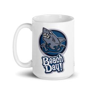 Large 15 oz Coffee Mug – Beach Day